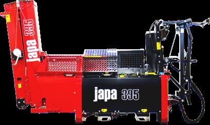 Japa®395 firewood processor